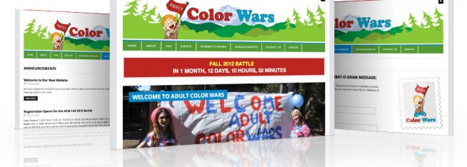 AdultColorWars.com website